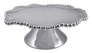 Pearled Wavy Cake Stand