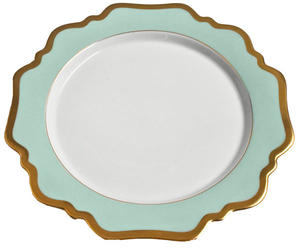 Anna's Palette - Aqua Green ~ Dinner Plate by Anna Weatherley