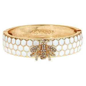 Honey Bangle - White