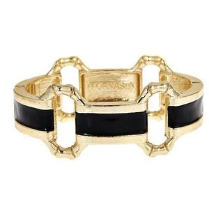 Black Enamel Bangle