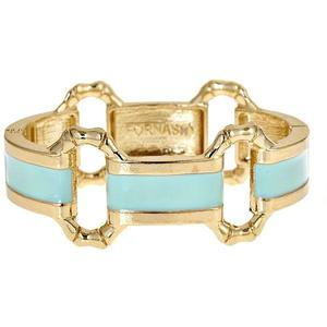 Mint Enamel Bangle