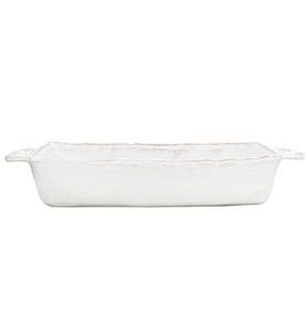 Bellezza White Medium Rectangular Baking Dish