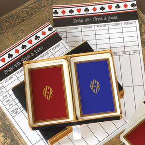 Playing Cards & Bridge Pad