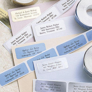 return address stickers basic labels from janice cain