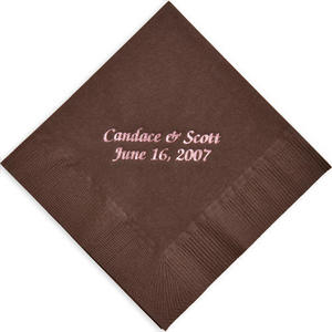 Brittany Personalized Napkins