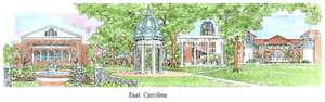 Patsy Gullett Eastern Carolina University Sculptured Watercolor