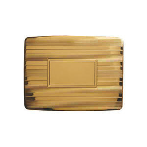 Gold Plated Belt Buckle