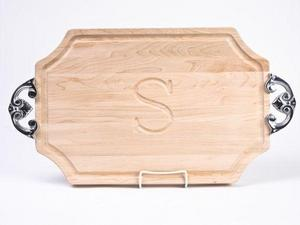 ChubCo Scalloped Handled Carving Board