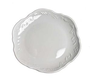 Simply Anna - White ~ Bread and Butter Plate by Anna Weatherley