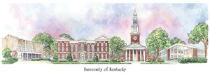 Patsy Gullett University of Kentucky Sculptured Watercolor