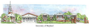 Patsy Gullett University of Maryland Sculptured Watercolor
