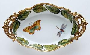 Ivy Garland ~ Oval Vegetable by Anna Weatherley