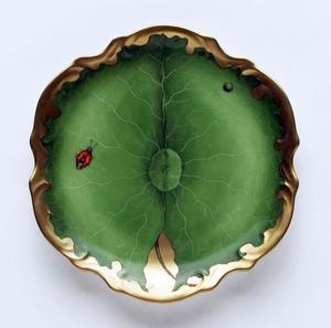Ivy Garland ~ Bread & Butter Plate by Anna Weatherley
