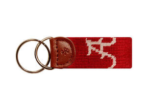 University of Alabama Needlepoint Key Fob