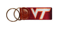 Virginia Tech Needlepoint Key Fob