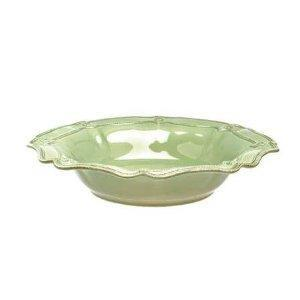 Juliska Berry & Thread Green Large Scallop Serving Bowl