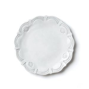 Incanto White Lace European Dinner Plate
