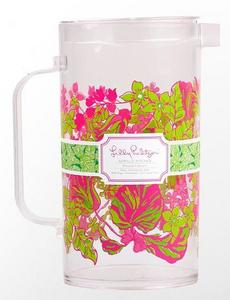 Lilly Pulitzer Acrylic Pitcher