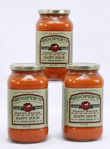 Hooper's Happy Hour Vodka Sauce - As seen in Southern Living Magazine