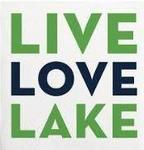 Live Love Lake beverage napkin