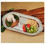 Beatriz Ball Cutting Board Wood Pearl Double Cracker