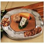 Cutting Board Wood Vento Cracker/Dip