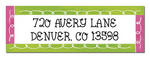 Return Address Stickers