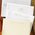 Embossed Border Cards