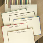 Tailored Hand Border Card Ensemble