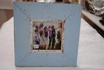 Blue Wooden Photo Frame - Small