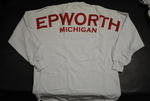 Epworth Football Jersey - White w/ Red