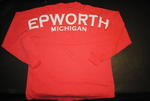 Epworth Footbal Jersey - Coral w/ White