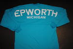 Epworth Football Jersey - Teal w/ White