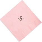 Executive Single Letter Foil Stamped Napkins