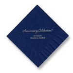 Celebration Foil-Stamped Napkins