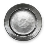Juliska Pewter Round Dinner Plate