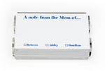 Mommy Memos with Holder Set