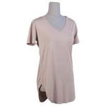 The RS Collection Perkins V-Neck Tee in Taupe