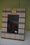 Jan Sevadijan Plaid Scottie Dog Frame