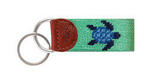 Smathers and Branson Mint Turtle Key Fob