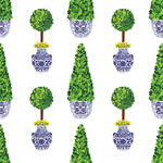 Chinoiserie Topiary Gift Wrap Sheets