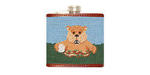 Smathers and Branson Needlepoint Caddyshack Flask