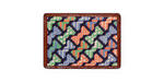 Smathers and Branson Needlepoint Bowties Card Wallet