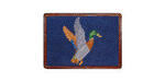 Smathers and Branson Needlepoint Mallard Card Wallet