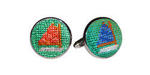 Smathers and Branson Needlepoint Cufflinks