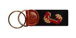 College of Charleston Needlepoint Key Fob