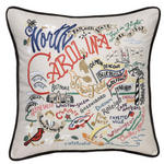 Catstudio Embroidered Pillow